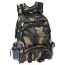 Army CAMOFLAUGE School Backpack Camping Hiking Laptop Book bag FREE SHIPPING!