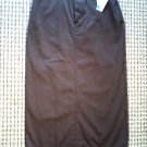 NEW WITH TAG! RIDERS BY LEE SKIRT COFFEE COLOR 10M SIZE FREE SHIPPING!