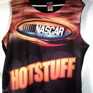 """HOT STUFF! NASCAR WOMEN'S TANK TOP XL 26"""" ACROSS CHEST 28"""" L."""