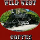 NEW! WILD WEST COFFEE 2.25 LBS. 3 - 12 OZ. BAGS MAKE COWBOY COFFEE FREE SHIPPING