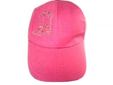 NEW WITH TAGS ARTMINDS PINK FLASHY WOMEN'S HAT BASEBALL CAP