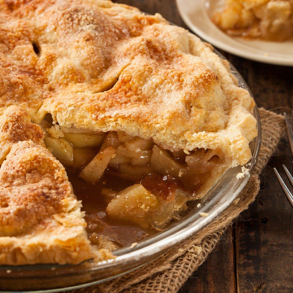 Hot Apple Pie Bath Bomb Round