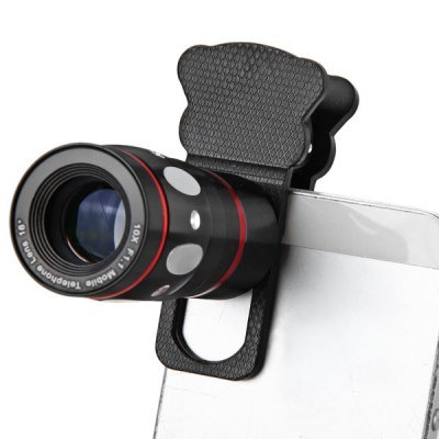 Clamp Camera Lens including Fisheye Telephoto Macro and Wide Angle for Most Smart Phones(IA0194701)