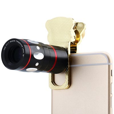 Clamp Camera Lens including Fisheye Telephoto Macro and Wide Angle for Most Smart Phones(IA0194702)