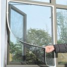 Insect Fly Bug Mosquito Door Window Net Netting Mesh Screen Sticky Velcro Tape(BICP019188)