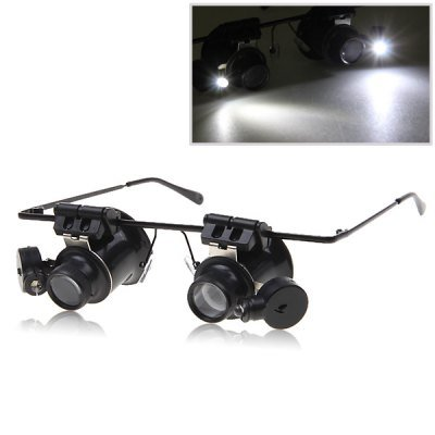Binocular Magnifying Glasses Magnifier with LED Light for Watch Repair(OM0012001)