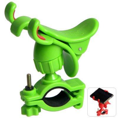 Green Bicycle Phone GPS Holder Bike Handlebar Cellphone Camera Mount Ourdoor Cycling(114405805)