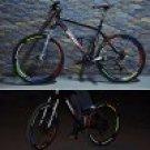 8 PCS / Sheet Blue Fashionable Bike Wheel Reflective Stickers(OU0086803)