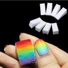 24 Pcs Gradient Nails Soft Sponges for Color Removal Manicure Nail Art (BICP050477)