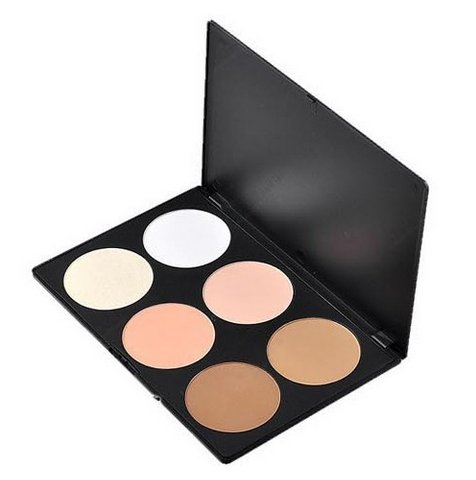 6 Color Makeup Cosmetic Face Care Blush Blusher Contour Palette(BICP010202)