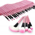 32 Pcs Pink Make Up Brush Kit Pro Cosmetic Makeup Brush Set