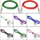 1 Pcs Gold 3.5mm Male to Male Car Aux Auxiliary Cord Stereo Audio Cable (Random Color )
