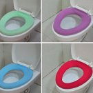 2 Pcs Bathroom Warmer Toilet Washable Cloth Seat Cover Pads(BICP002832)