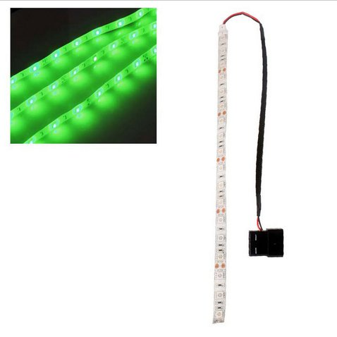 Green 60cm 5050SMD LED PC Computer Case Strip Light Self-adhesive(HT-49842 Green)