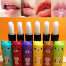 4pcs Cosmeitc Cute Bear Pattern Baby Girl Lasting Moisture Lip Balm Lipstick(BICP044399)