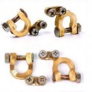 2Pcs Replacement Universal Car Battery Terminal Clamp Clips Brass Connector(BICP052563)