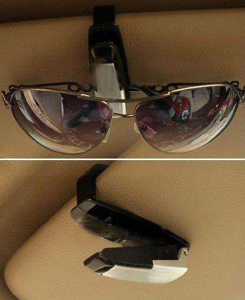 1 Pcs New Car Vehicle Sun Visor Eye Sunglasses Holder Clip(BICP003230)