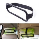 Car Sun Visor Tissue Paper Napkin Box Holder Auto Seat Back Clip Bracket(BICP054508)