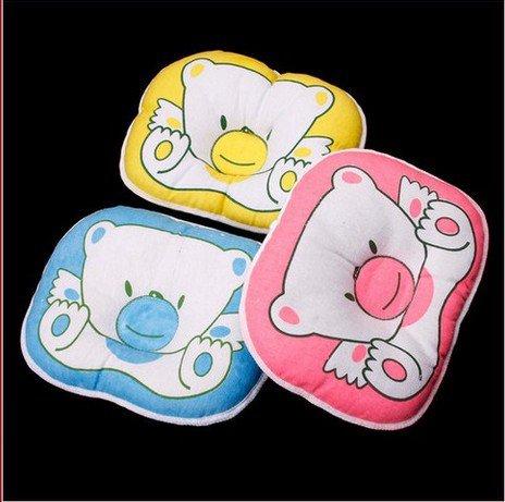 1 Pcs Blue Support Shape Soft Cotton Baby Boys Girls Pillow Cushion Pad