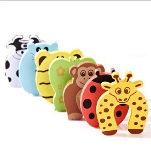 5X Cute Baby Door Stopper Safety Finger Guard Protector (BICP003058)