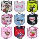 1 Pcs Baby Infants kids bibs/ baby lunch bibs/ cute towel 3 Layer Waterproof (160833350960)