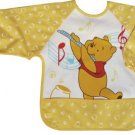 Pooh Yellow Toddler Baby Infants Boys Girls Long Sleeves Waterproof Bibs(150846750810)