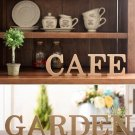 """C"" 1 Pcs Wooden Letter C  Alphabet Word Free Standing Wedding Party Home Decor(261601445657)"