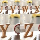 """W"" 1 Pcs Wooden Letter W  Alphabet Word Free Standing Wedding Party Home Decor(261601445657)"
