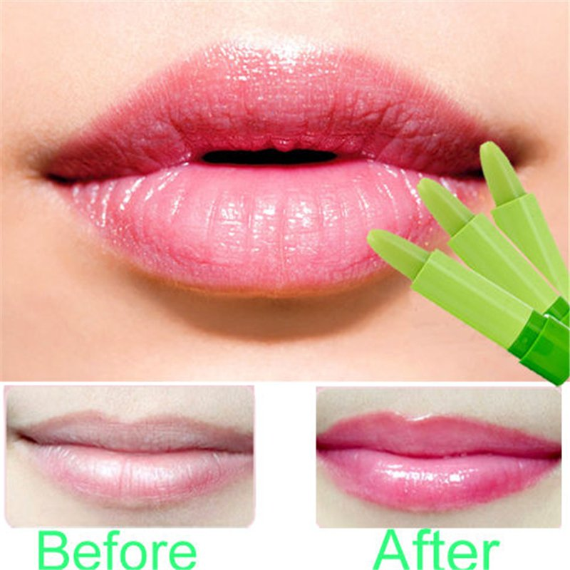 1 Pcs Pretty Popular Waterproof Magic Fruity Smell Changable Color Lipstick (261675267911)
