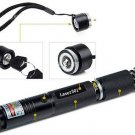 ZONO High Power Adjustable Light Focus Burning 301 532nm Green Laser Pointer Pen(271637523108)