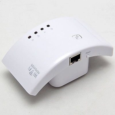 EU Plug Wireless WIFI Repeater 300Mbps 802.11n/g/b Router Signal Extender(400688052301)