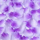 1000pcs White Purple Flower Rose Petals Wedding Party Decorations(360966313441)