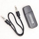 5V USB Bluetooth Stereo Sound Wireless Receiving Adapter 3.5mm for iPhone4 4s 5(400731623052)