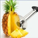 Easy Kitchen Tool Stainless Steel Fruit Pineapple Corer Slicer Cutter Peeler (171383340268)