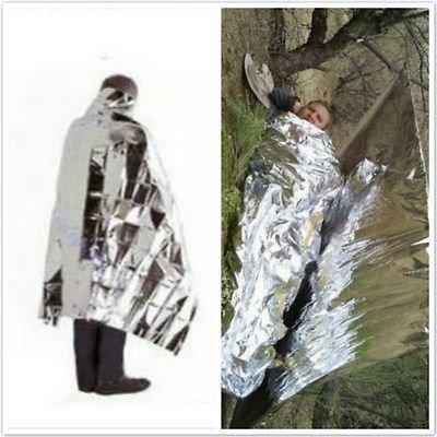 Waterproof Emergency Rescue Space Foil Thermal Blanket Retain Body Heat(161355778804)