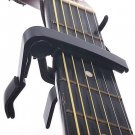 Classic Guitar Quick Change Clamp Key Black Guitar Capo For Acoustic Electric(380975203790)