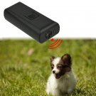 Ultrasonic Pet Dog Repeller Train Stop Barking dog Repellent Trainer Black(131282464591)