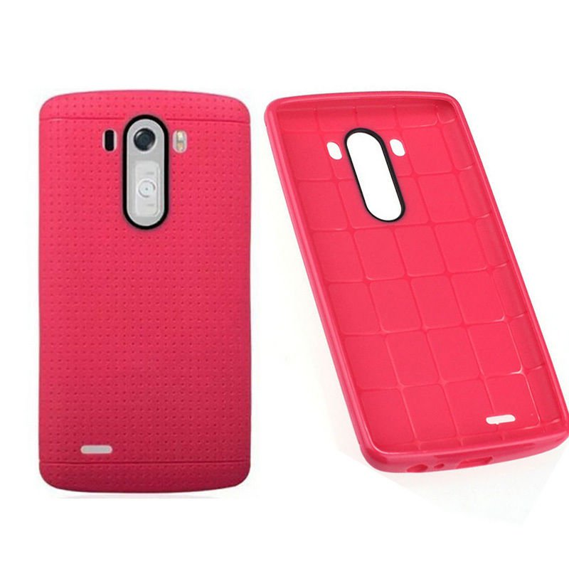 1 Pcs Pink Soft TPU Silicone Rubber Back Case Protective Cover For LG G3 D855 D850(131342280861)