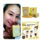 1 x Lemon Honey Gluta White Wink Soap 70g NEW SPF 50+++(291366802062)