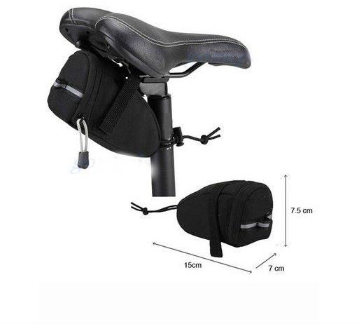 Cycling Bike Bicycle Water Resistant Saddle Bag Back Seat Bag Sales