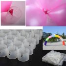 50Pcs Decorative Decor Balloon Arch Folder Convenient Clip Multiple Accessories