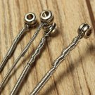 Set of 4 String Bass Guitar Parts 4 Stainless Steel Silver Plated Gauge Strings