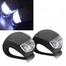 3 Model 2 LED Bicycle Bike Silicone Frog Light Front Rear Firm Safety Lamp