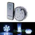 LED Creative Aquarium Pattern Diving Lights Base With Remote Control Waterproof ( Two key remote)