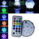 LED Creative Aquarium Pattern Diving Lights Base With Remote Control Waterproof ( 24 key remote)