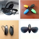 1 Pcs Car Vehicle Accessory Sun Visor Sunglasses Eye Glasses Card Pen Holder Clip