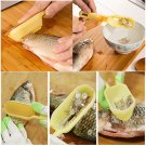 Practical Fish Scale Remover Scaler Scraper Cleaner Kitchen Tool Peeler