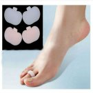 1Pair Claw Hammer Toe Gel Pads Separators Stretchers Straighteners Alignment(BICP046790)