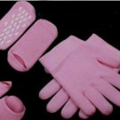 Pink Moisturize Gel Socks and Gloves Soften Skin Moisturizing Treatment (BICP037674)
