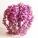 1Pc Purple Artificial Wisteria Silk Flower Home Party Wedding Garden Floral Decoration(291196278757)